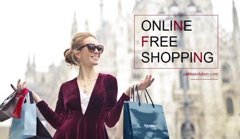 online free shopping kaise kare